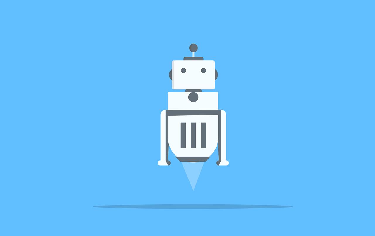Robotic Robot Machine System  - mohamed_hassan / Pixabay